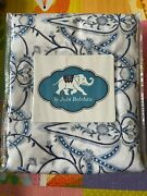 Jr By John Robshaw Acala Twin Size Duvet Cover 72 X 92 Msrp 315