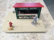 Lionel Trains 128 Animated Newsstand