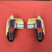 1970 1971 1972 Monte Carlo Quarter Extension And Tail Light Housings With Bezels