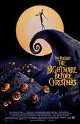 Tim Burtonand039s The Nightmare Before Christmas Movie Poster A 11 X 17 Inches