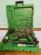 Greenlee 7310sbsp Speed Punch Kit With Hydraulic Pump And Ram , 1/2 To 4 Conduit
