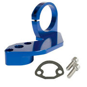 Empi 18-1089 Vw Fuel Pump Block Off With Coil Mount Blue