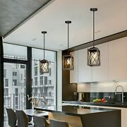 Dewenwils Farmhouse Pendant Lamps Metal Hanging Light Fixture For Kitchen 1 Pack