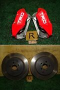 Toyota Zn6 86 Gt A Type Trd 2pot Brake Caliper And Rotor Jdm From Japan F/s