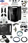 70-72 Chevelle Ss Malibu Steel Cowl Induction Hood Air Cleaner Conversion Kit