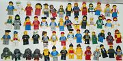 Vintage Lot Of 56 Lego Minifigures Pirates Police Fire Rock Monsters More