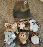 Star Wars Galaxyandrsquos Edge Trading Outpost Target Set Of 6 Plush + Display Box