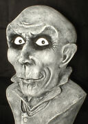 Haunted Creepy Bust Statue Eyes Follow You Halloween Mansion Gothic Prop