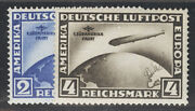 Germany Postage Stamps Cat No C38-39, Mint Nh