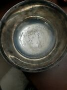 Fb Rogers Large Silverplate Paul Revere Reproduction Bowl With Monogram