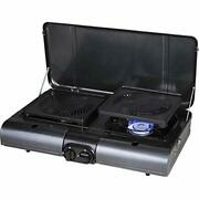 Iwatani Cassette Table Type Bbq Flat Twin Grill Cb-tbg-1 Gas Cooking Stove Ems