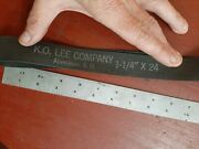 K.o. Lee Sd 1 1/4 X 24 Grinder Belts Themac Emco Grizzly Dumore Belt