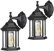 Dewenwils 2 Pack Outdoor Wall Light Sconce Dusk To Dawn Exterior Light Fixtures