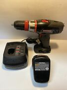Craftsman 14.4v Cordless 3/8-in. Drill, Battery And Charger Set 315.115470 1425301