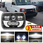5x7 7x6 Sealed Led Headlight For Chevy Express Cargo Van 1500 2500 3500 Truck