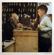 Norman Rockwell Watchmaker Of Switzerland Signed, Limited Edition Numbered