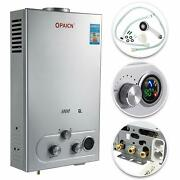 Vevor 6l Lpg Propane Gas Tankless Hot Water Heater With Shower Kit Gas Type Lpg