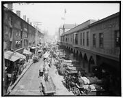 1906 Photo Of Light St Looking North Baltimore Md K