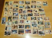 Lot Error / Miscut Vintage 1980 Topps Empire Strikes Back Trading Cards