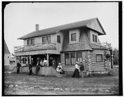 1896 Photo Of Cottage Of J C Cabanne Pointe Aux Barques N