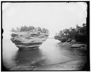 1896 Photo Of Turnip Rock Pointe Aux Barques H