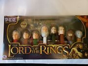The Lord Of The Rings Pez Set Bilbo Baggins Limited Edition Vintage Collector's