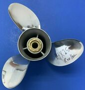 Ron Hill Propeller 14 X 25 3 Blade For Mercury V-6 Outboard Or Sterndrive