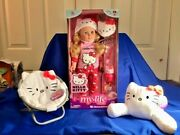 My Life As Hello Kitty Doll Blonde Hair, Saucer Chair And Headrest- Hot Toy 2020