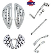 Floorboard Footpegs Shift Lever Shifter Linkage Brake Arm Fit For Harley Touring