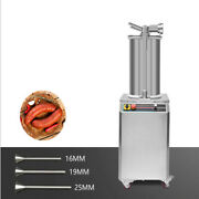 26l New Commercial Hydraulic Sausage Stuffer Meat Filler Vertical Machine 110v