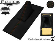 Tan Stitch Leather Gear + Base Frame Kit For Rover Sd1 2300 2600 3500 76-82