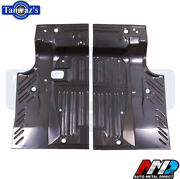 68-70 Dodge Charger Trunk Floor Pan Sections Pair Lh And Rh Amd