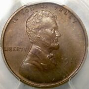 1911 Lincoln Wheat Penny Very Rare 1725 Struck Beautiful Pcgs Proof 66 Bn Gem+++