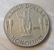 1975 Hawaii Dollar Honolulu/aloha From Hawaii Medal