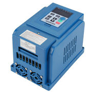 4kw Three-phase Ac380v Variable Frequency Drive Vfd Speed Controller 12a Pwm New