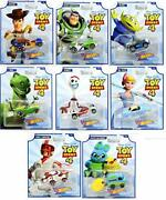 Hot Wheels Toy Story 4 - Complete Set Of 8 Collectible Character Cars - Woody,