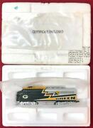 2000and039s Hawthorne Village Green Bay Packers Ho Scale Emd F/a Locomotive Train New