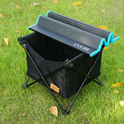 Outdoor Folding Table Storage Basket Picnic Table Hanging Bag Invisible Pocket