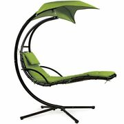 Hanging Chaise Lounge Chair Hammock Swing Patio Outdoor And Indoor Beach Canopy
