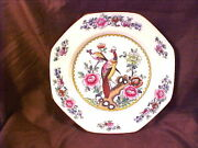 Old Chelsea Patt. F.winkle Luncheon Plate Birds Excellent Cond. C1910