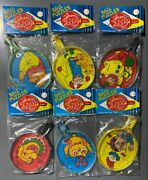 Vintage 1960s Set Of 6 Ball Puzzles - Hong Kong - Dime Store Novelty Toys - Nos