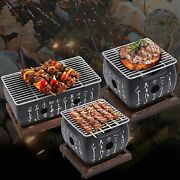 Japanese Portable Cooking Table Large Top Charcoal Mini Bbq Grill Tool Stove