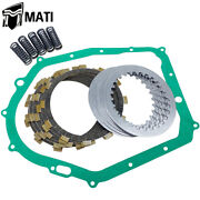 Clutch Kit Heavy Duty Springs Andcover Gasket For Yamaha Warrior Yfm350x 1987-2004