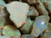 High Grade Solid Gem Natural Ethiopian Welo Opal Rough For Lapidary Or Jewelry