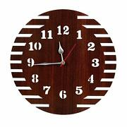 Clock Wall Wood Large Decor Rustic Home Modern Vintage Wood For Thanksgiving Day