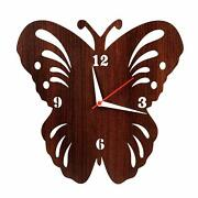Clock Wall Design Butterfly Home Antique Analog Decor Living Thanksgiving Day