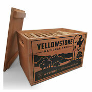 Better Wood Products Protect The Parks Fatwood Firestarter Crate Yellowstone