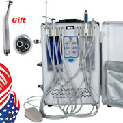 Dental Portable Delivery System All In One Unit With Led High Speed Handpiece Us
