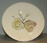 New Dinner Plate Oysters , Hand Painted Grands Crustaces Pattern From Gien