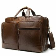 Men Leather Travel Bag Big Duffel Weekend Bags Male Luggage Business Briefcase